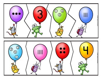 Math Center: Counting - Number Puzzles