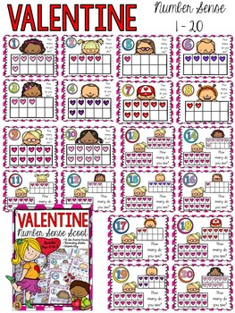 VALENTINE'S DAY: NUMBERS SENSE SCOOT