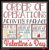 VALENTINE'S DAY ORDER OF OPERATIONS ACTIVITY PACK