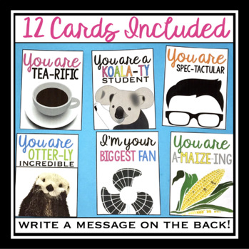 PUN CARDS: STUDENT GIFT