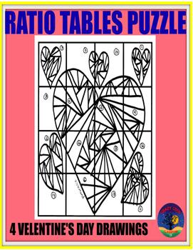 VALENTINE'S DAY PUZZLE - RATIO TABLES