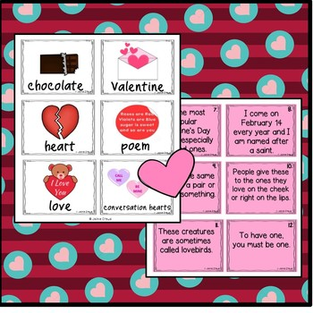 VALENTINE'S DAY RIDDLES: A Tool to Help Students Use Context Clues