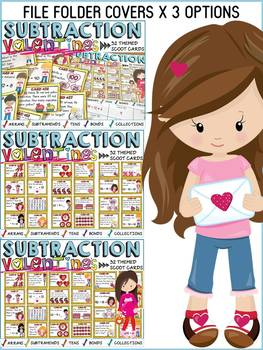 VALENTINE'S DAY SUBTRACTION SCOOT: NUMBER SENSE