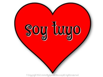 VALENTINE'S DAY: Sweetheart Messages PowerPoint in Spanish Newer Version