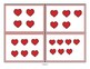 VALENTINE'S DAY Theme Subitizing Cards - Instant Recognition Number Sets 0-10