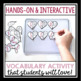 VALENTINE'S DAY VOCABULARY ACTIVITY: COOKIES