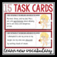 VALENTINE'S DAY VOCABULARY TASK CARDS ACTIVITY: CUPID'S DICTIONARY
