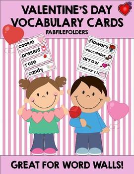 VALENTINE'S DAY VOCABULARY WORDS