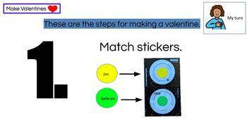 VALENTINE'S DAY! 4-Step Vocational Lesson & Bargain Bin: Valentines