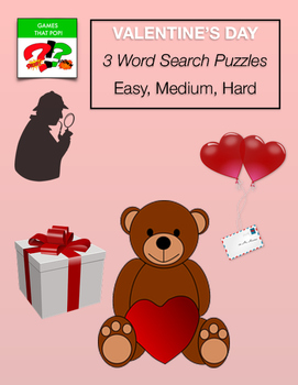 VALENTINE'S DAY Word Search Puzzle - Valentine - Early Fin