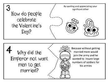2019 VALENTINE'S DAY reading comprehension and questions (with dice GAME)