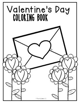 VALENTINE'S DAY COLORING BOOK **FREEBIE**