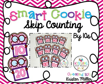 VALENTINE Smart Cookie Skip Counting By 10s - Cards 10 to 100