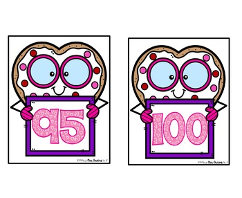 VALENTINE Smart Cookie Skip Counting By 5s - Cards 5 to 100