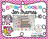 VALENTINE Smart Cookie Ten Frames - 1-10
