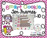 VALENTINE Smart Cookie Ten Frames - 1-10