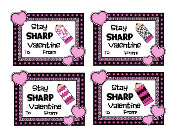 VALENTINE- Stay Sharp Valentine