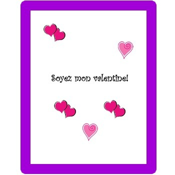 VALENTINE'S ACTIVITIES – Vocabulary / Culture  (Aligned with ACTFL/Common Core)