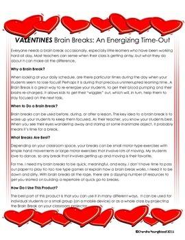 VALENTINES Brain Breaks