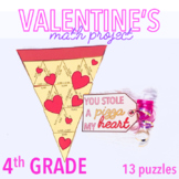 VALENTINES DAY ACTIVITY - FOURTH GRADE MATH PIZZA
