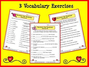 VALENTINE'S DAY BUNDLE: The Legend of St. Valentine Reading & SMART Board
