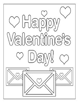 VALENTINES DAY COLORING PAGES, BUNDLE 24 PAGES, VALENTINES DAY ACTIVITIES