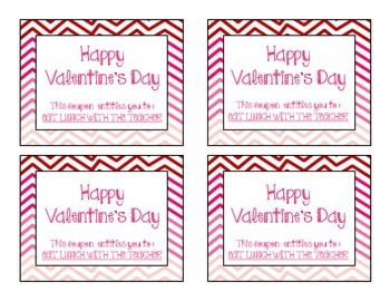 VALENTINE'S DAY COUPONS