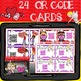 VALENTINE'S DAY FUN FACTS FIND {QR Code Cards, Website Links}