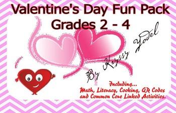 Valentine's Day Fun, Grades 2-4