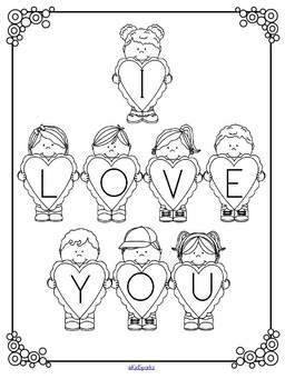 VALENTINE'S DAY Match the Letters Poster FREE