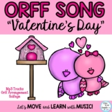 """Valentine's Day Music Lesson: """"Valentine's Day"""" Kodaly, Orff,  Mp3"""