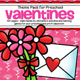 VALENTINE'S DAY Preschool Centers, Activities and Printables Preschool and Pre K