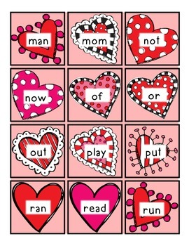 *VALENTINES DAY* Read/Write Around the Room (Sight Words/Letters)