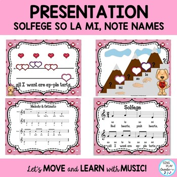 """Valentine's Day Music Lesson """"Red Hearts, Pink Hearts"""" Teaching Video, Mp3's K-3"""