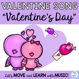 """Valentine's Day Song: """"Valentine's Day"""" for Music Program or Choir"""