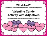 VALENTINE'S DAY SORTING - COMPARATIVE AND SUPERLATIVE ADJECTIVES
