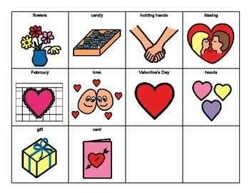 VALENTINE'S DAY Social Concepts Adapted BOOK, AUTISM, Speech Therapy, ELL