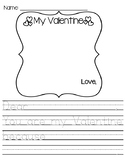 VALENTINES DAY Writing Prompt