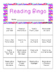 VALENTINES READING BINGO