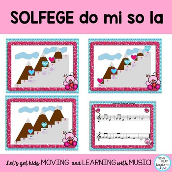 Valentine's Day Songs, Game and Music Lessons: Kodaly, Ostinato, Composition