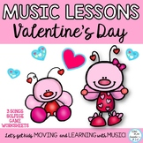 Valentine's Day Kodaly Song and Lessons with Game