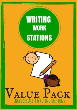 VALUE PACK - Writing Work Stations