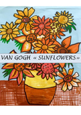 "VAN GOGH ""Sunflowers""  Mother's day activity"