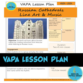 VAPA Lesson Plan 4/5th Grade [Day 3&4] - Russian Cathedrals