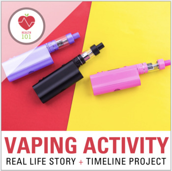 VAPING CLASS ACTIVITIES: Juuls / E-Cigarettes / Nicotine- Real-Life Addiction!