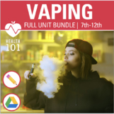 VAPING BUNDLE: E-Cigarettes, Juuls, & Harmful Effects, Cau