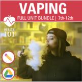 VAPING LESSONS- Full Bundle for Distance Learning: E-Cigar
