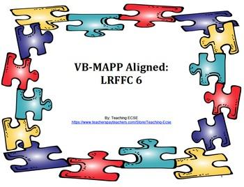 VB-MAPP Aligned: LRFFC 6