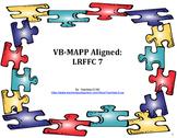 VB-MAPP Aligned: LRFFC 7