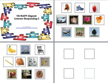 VB-MAPP Aligned: Level 1-3 (GROWING BUNDLE)